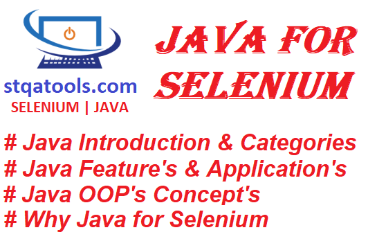 Java for Selenium WebDriver