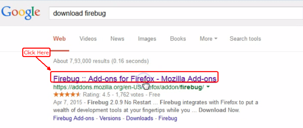 Firebug For Firefox